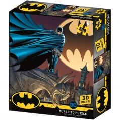 puzzle 3d 500 pezzi - dc comics - bat segnale