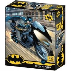 puzzle 3d 500 pezzi - dc comics - batcycle