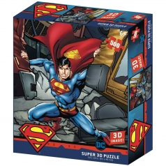 puzzle 3d 500 pezzi - dc comics - superman strength