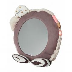 specchio multiattivita da pavimento, rosa cipria