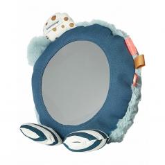 specchio multiattivita da pavimento, celeste