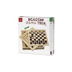 scacchi dama tria top 36cm