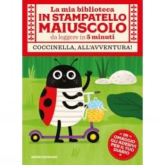coccinella, all'avventura! con adesivi. ediz. illustrata