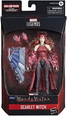 marvel legends series - wanda vision - scarlet witch - personaggio 15cm