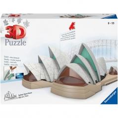 sidney opera house - puzzle 3d 216 pezzi