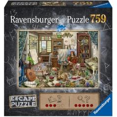 l'atelier dell'artista - escape puzzle 759 pezzi
