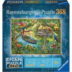 spedizione nella giungla - escape puzzle kids 368 pezzi