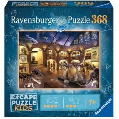il museo di storia naturale - escape puzzle kids 368 pezzi