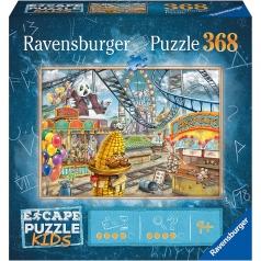 il parco divertimenti - escape puzzle kids 368 pezzi