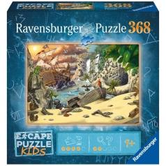 l'avventura dei pirati - escape puzzle kids 368 pezzi