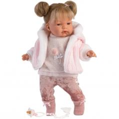 joelle 38 cm - bambola con corpo in tessuto
