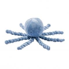 doudou peluche polpo blu