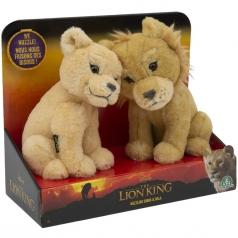 lion king - simba e nala peluche interattivi