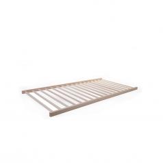 rete a doghe per lettino, legno di faggio massello - 140x70 cm