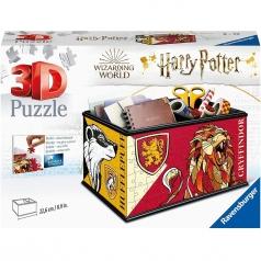 contenitore portaoggetti harry potter - puzzle 3d