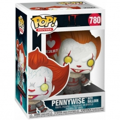 it - pennywise with balloon - funko pop 780