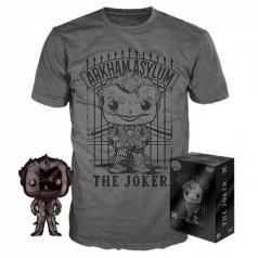 dc comics - joker funko pop e t-shirt taglia s