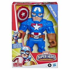 marvel super hero adventures - captain america mega mighties