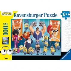 minions - puzzle 100 pezzi xxl
