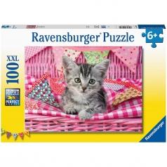 gatito bonito - puzzle 100 pezzi xxl