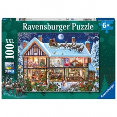 christmas - puzzle 100 pezzi xxl