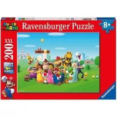 super mario - puzzle 200 pezzi xxl