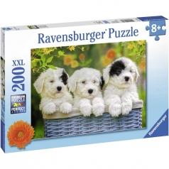 trio di cuccioli - puzzle 200 pezzi xxl
