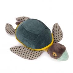 peluche tartaruga grande 60cm tout autour du monde