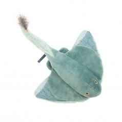 peluche squalo razza piccolo 50cm tout autour du monde