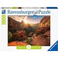 zion canyon usa - puzzle 1000 pezzi