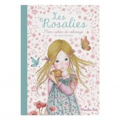 quaderno da colorare bambole les rosalies 36 pagine