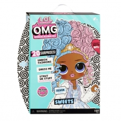 lol surprise - omg sweets - bambola 30cm