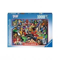 dc comics challenge - puzzle 1000 pezzi