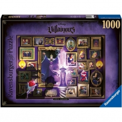 villainous: evil queen - puzzle 1000 pezzi