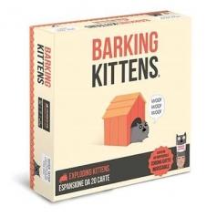 exploding kittens - barking kittens - espansione da 20 carte