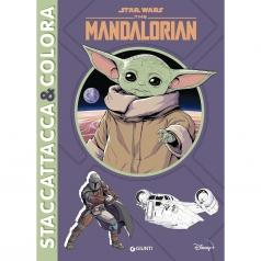 the mandalorian. star wars. staccattacca & colora. con adesivi. ediz. a colori