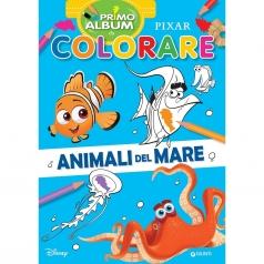 animali del mare. pixar. primo album da colorare. ediz. a colori