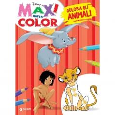 colora gli animali. maxi supercolor