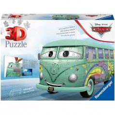 volkswagen t1 cars fillmore - puzzle 3d