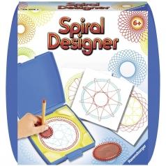 mini spiral designer blu
