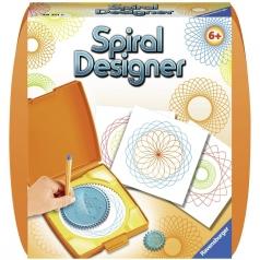 mini spiral designer arancione