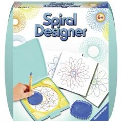 mini spiral designer turchese