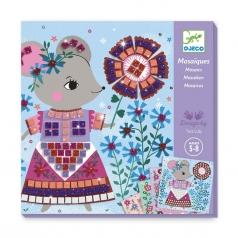kit mosaico - adorabili cuccioli - 4 soggetti