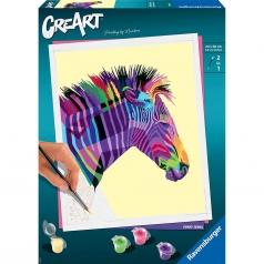 creart - funky zebra
