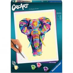 creart - funky elephant