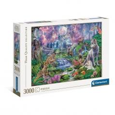 moonlight wild - puzzle 3000 pezzi