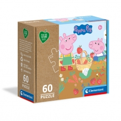 peppa pig - puzzle 60 pezzi - play for future