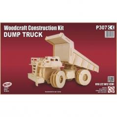 dumper truck - kit di costruzioni in legno (certificazione fsc)