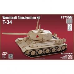 t-34 - kit di costruzioni in legno (certificazione fsc)