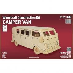 camper van - kit di costruzioni in legno (certificazione fsc)